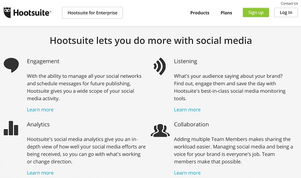 hootsuite monitoring