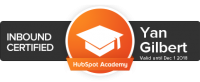 yan gilbert hubspot certification