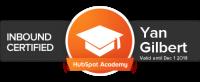 yan gilbert hubspot certification